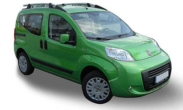 Fiat Fiorino Qubo 09//2008 in poi Calotta specchietto retrovisore nera sx